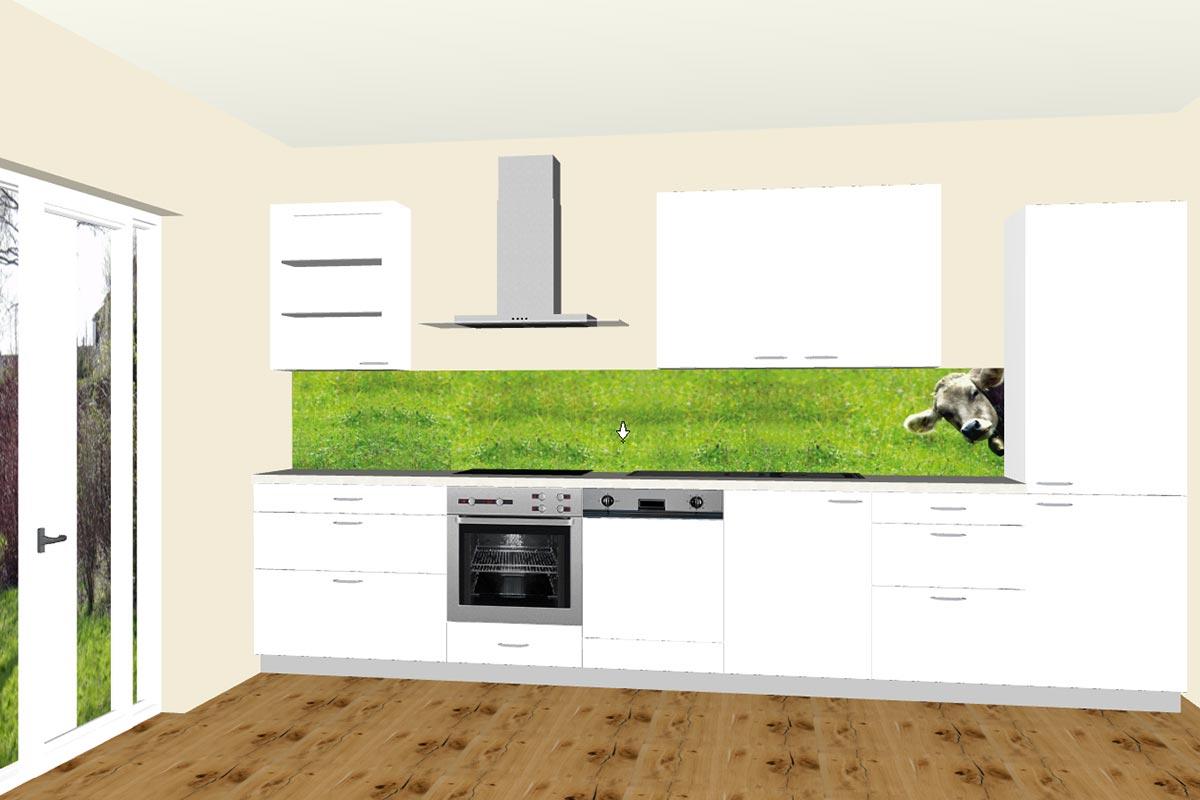 k chenr ckw nde von fani farbnische schlafzimmer komplett inkl matratze und lattenrost. Black Bedroom Furniture Sets. Home Design Ideas